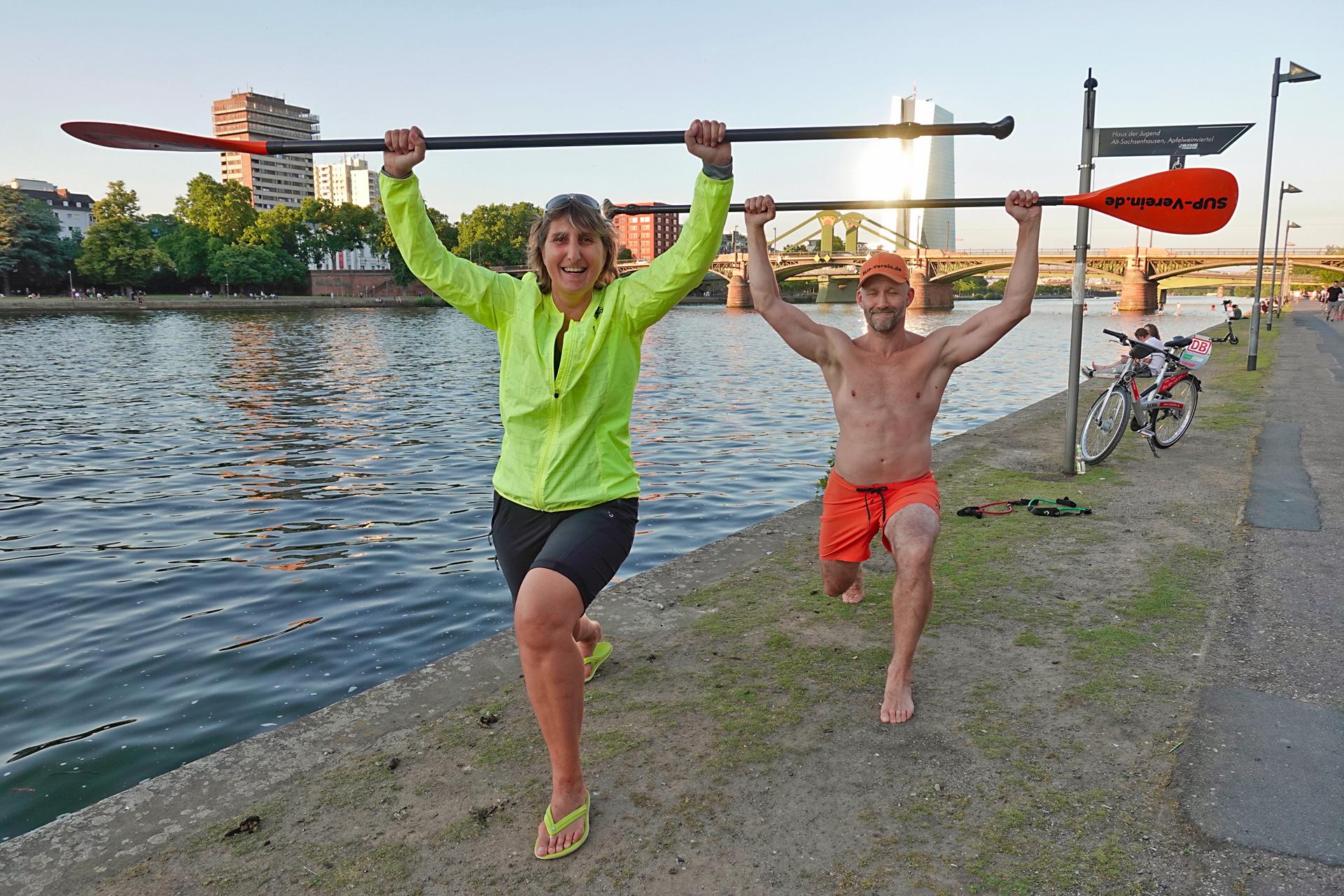 Alexandra Kloft Go active - Draussen