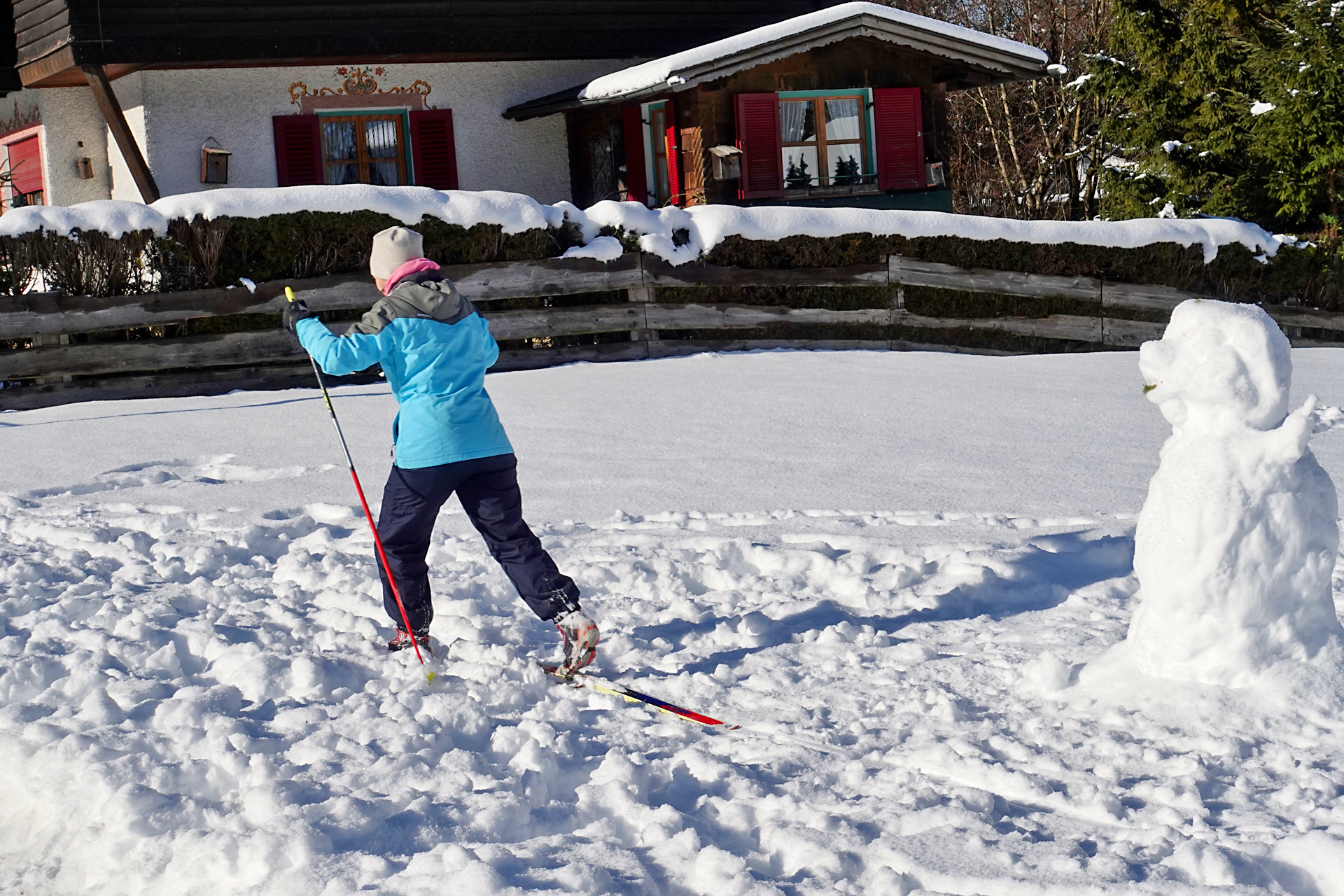 Alexandra Kloft Go Active Schnee Ski